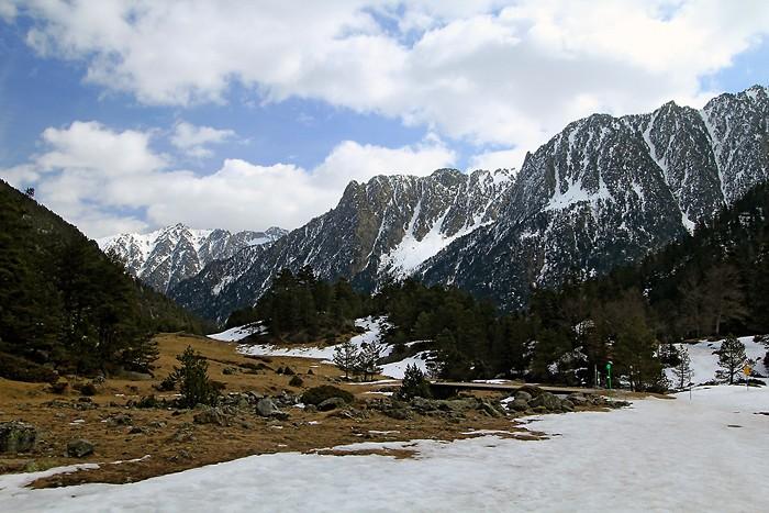 Randonnée en raquettes à neige dans la vallée du Marcadau