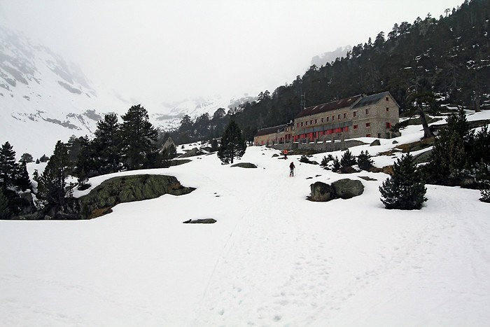 Randonnée raquettes : Randonnée en raquettes à neige au refuge du Marcadau - Hautes Pyrénées