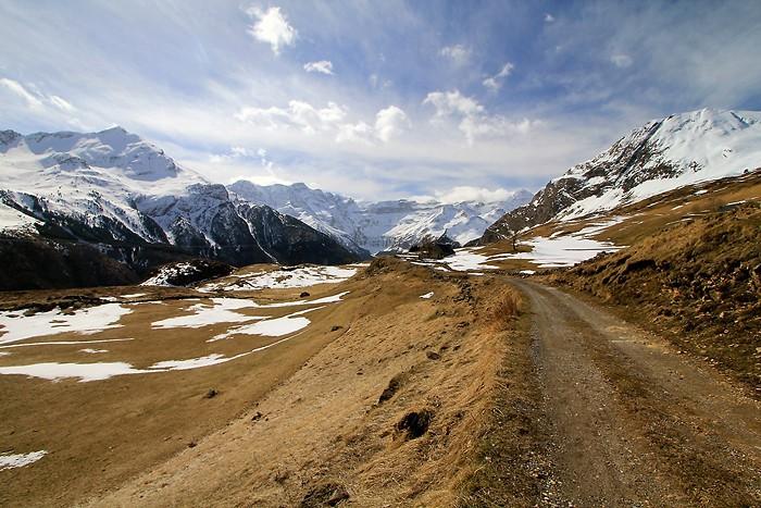 Randonnée sur le plateau de Saugué dans les Pyrénées
