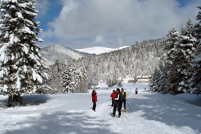 Ski de fond sur le plateau de Payolle