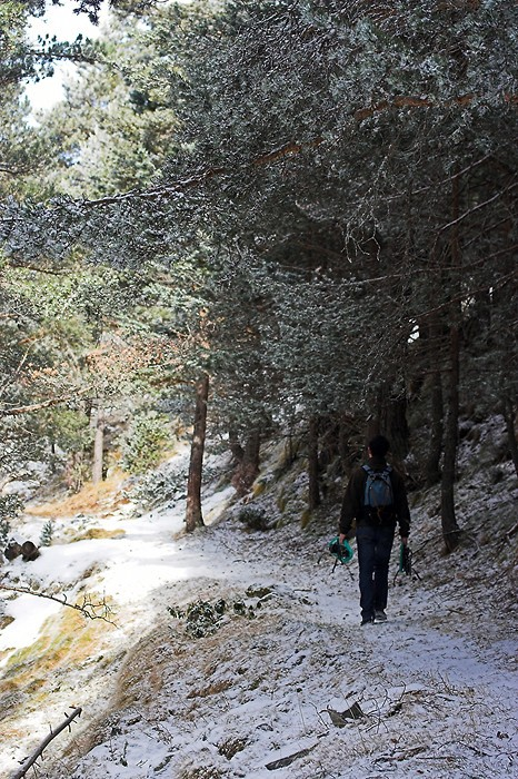 Randonnée jusqu'au lac de l'Oule dans les Pyrénées