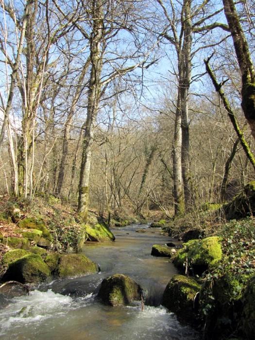 Randonnée à Ampiac, commune Druelle, Aveyron
