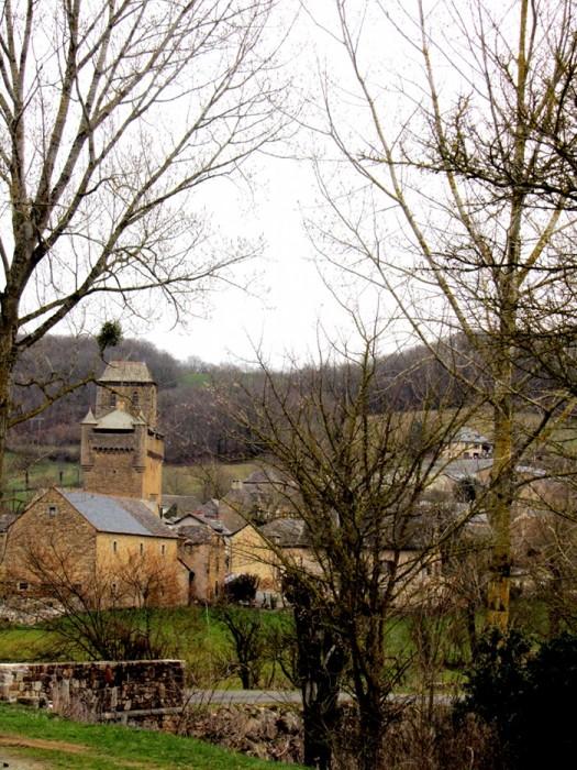 Village d'Inières Commune de Sainte Radegonde