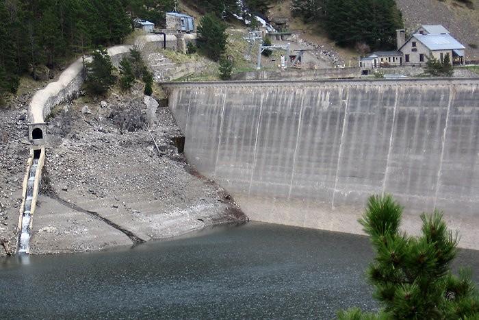 Barrage du lac de l'Oule