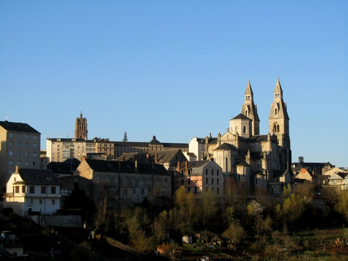 Rodez: cathédrale et église St Cyrice