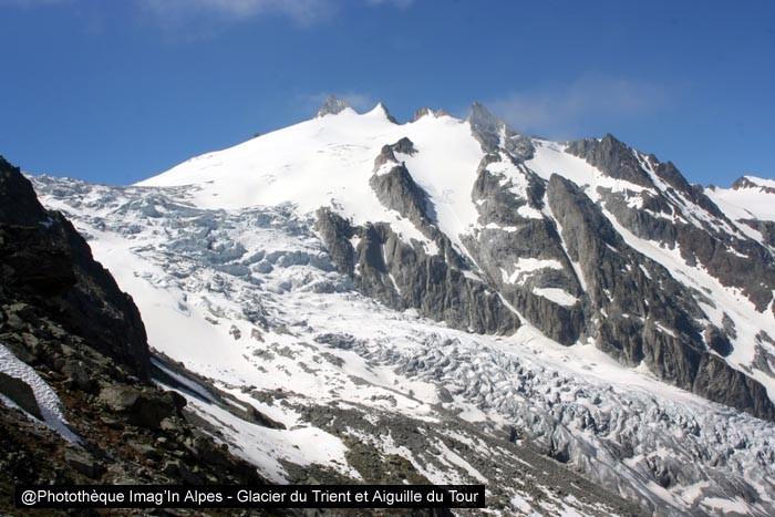 Glacier du Trient et Aiguille du Tour