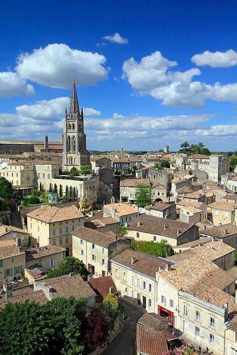 Saint-Emilion depuis le donjon