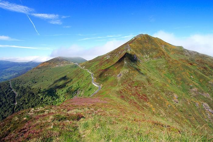 Randonnée au Puy Mary dans les volcans d'Auvergne
