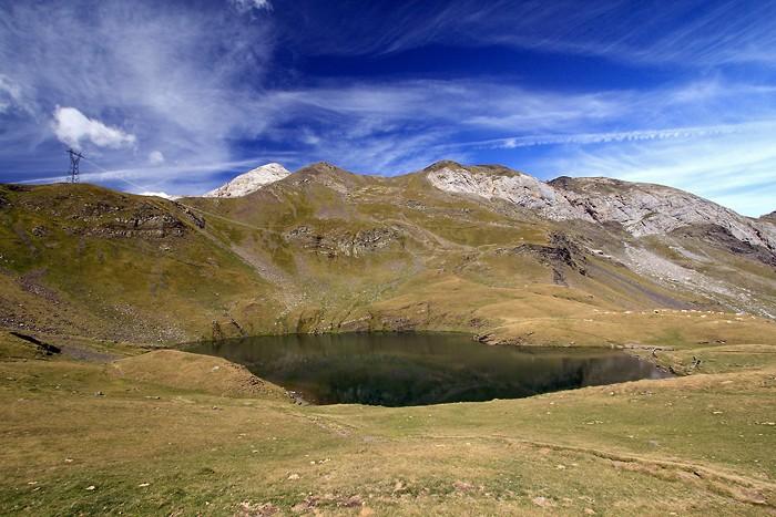 Lac des Especières près du col de Tentes