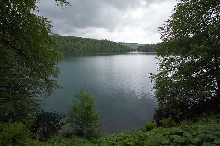 Le lac Pavin dans le Massif Central