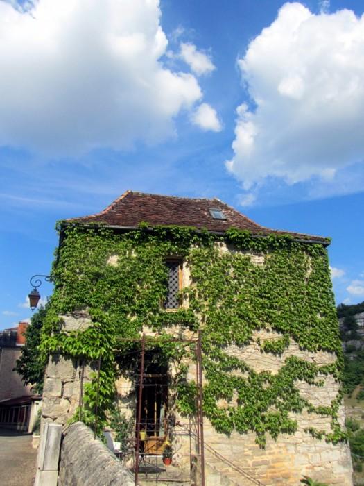 Maison dans le village de Rocamadour