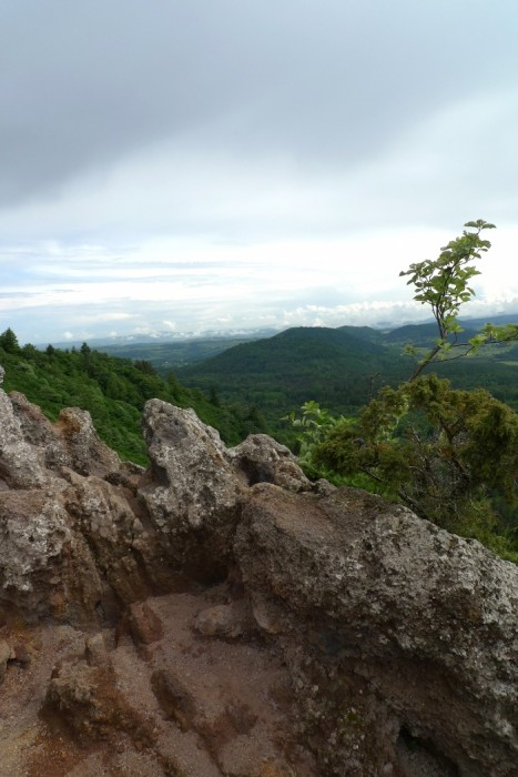En haut du Puy de la Vache, Auvergne