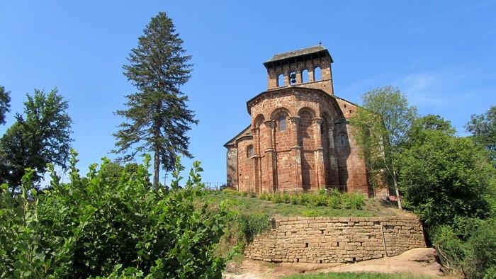 Eglise romane de Perse, Espalion