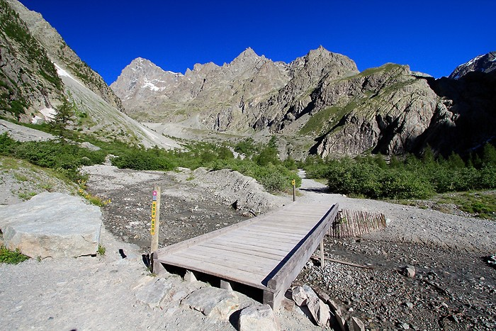 Randonnée dans le parc national des Ecrins
