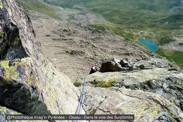Pic du Midi d'Ossau - Voie des Surplombs