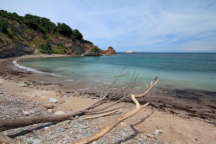 Baie de Loya dans le domaine d'Abbadia