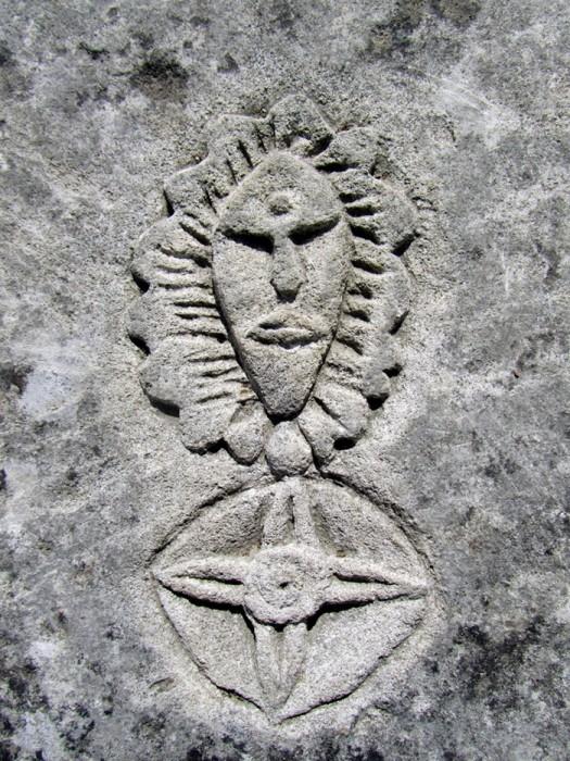 Gravure dans la pierre, à St Emilion