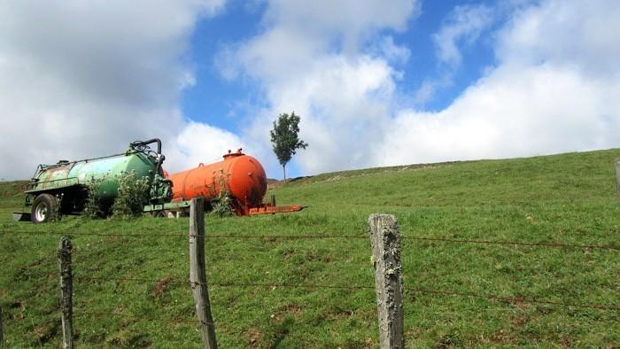 Paysage d'Aubrac, terre agricole