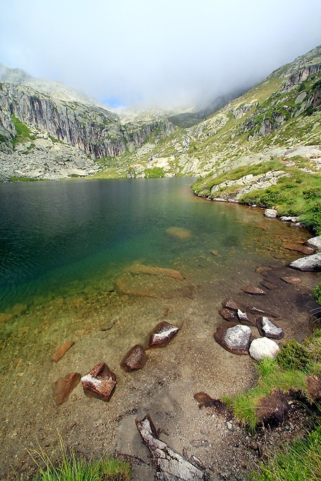 Lac inférieur de l'Embarrat
