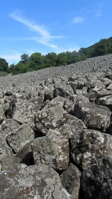 VTT en Aveyron: Espalion - coulée de lave de Roquelaure - St Côme, en boucle