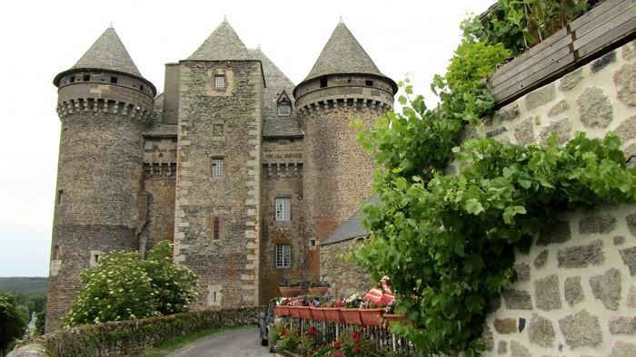 Château du Bousquet, près de Laguiole