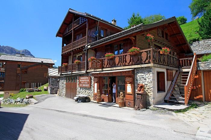 Maison en bois de Saint-Véran