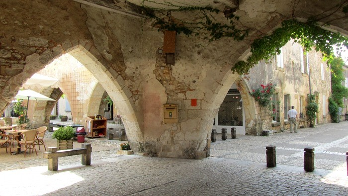 Monpazier, bastide en Dordogne