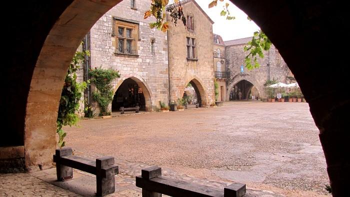 Monpazier, bastide de Dordogne