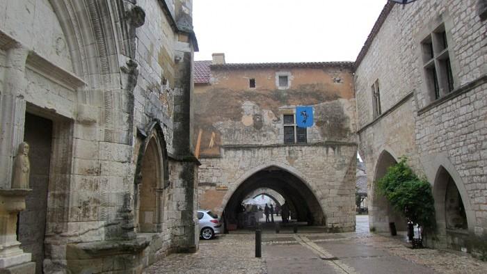 Village de Monpazier, Dordogne