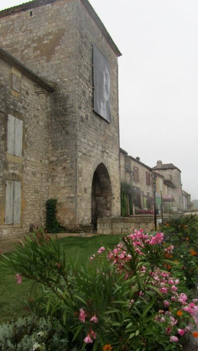 Monpazier, porte d'entrée de la bastide