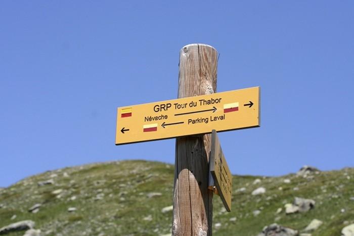 GRP Tour du Thabor ALPES près de Névache