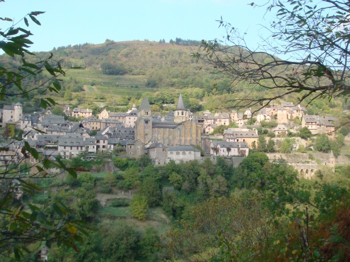 Conques un des Plus Beaux Villages de France