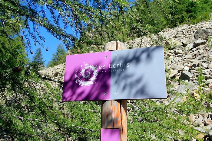 Entrée du parc national des Ecrins