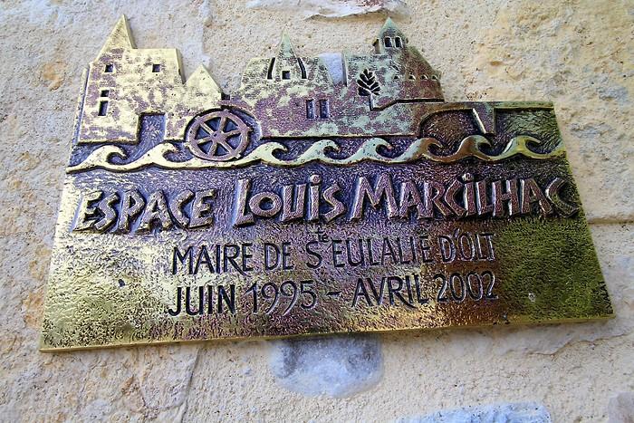 Espace Louis Marcilhac Sainte Eulalie d'Olt