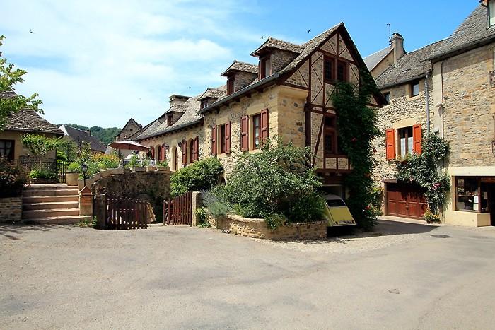 Village de Sainte Eulalie d'Olt