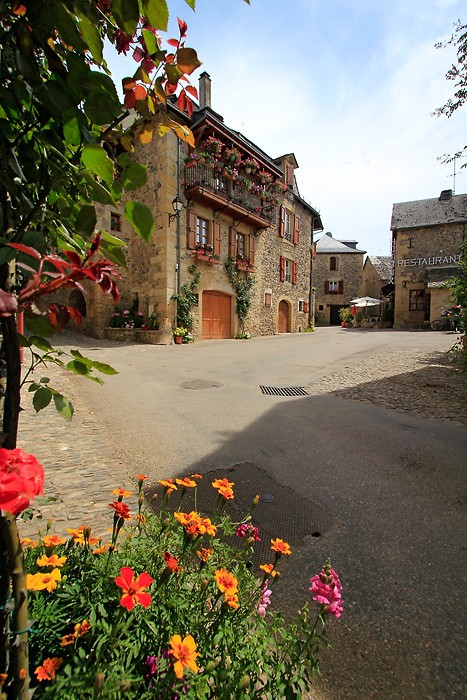 Fleurs dans Sainte Eulalie d'Olt