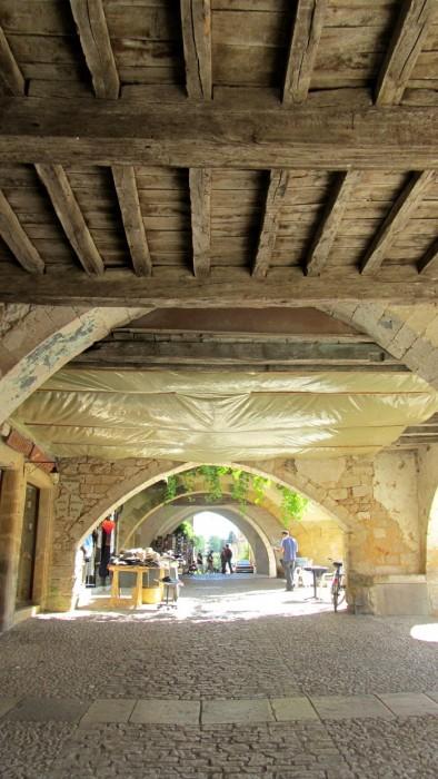 Arcades de Monpazier, Dordogne