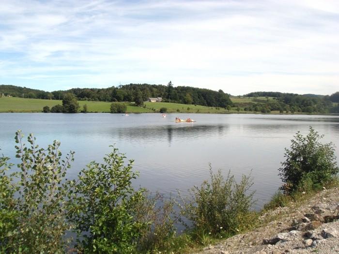 Lac St Gervais en Aveyron