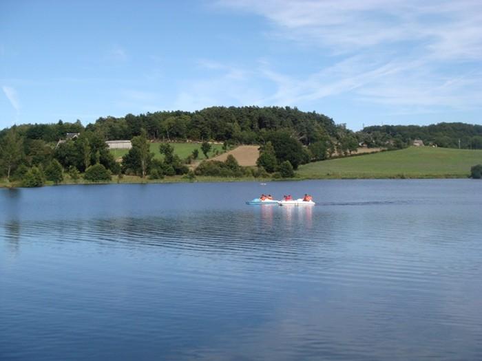 Pédalo Lac Saint Gervais