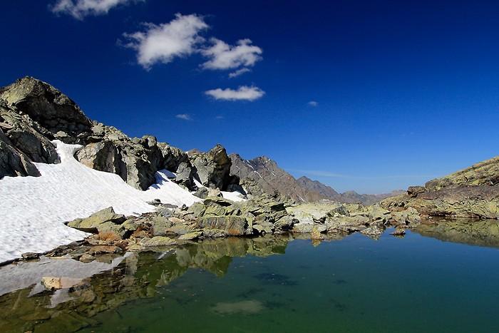 Randonnée aux lacs Blanchet inférieur et supérieur