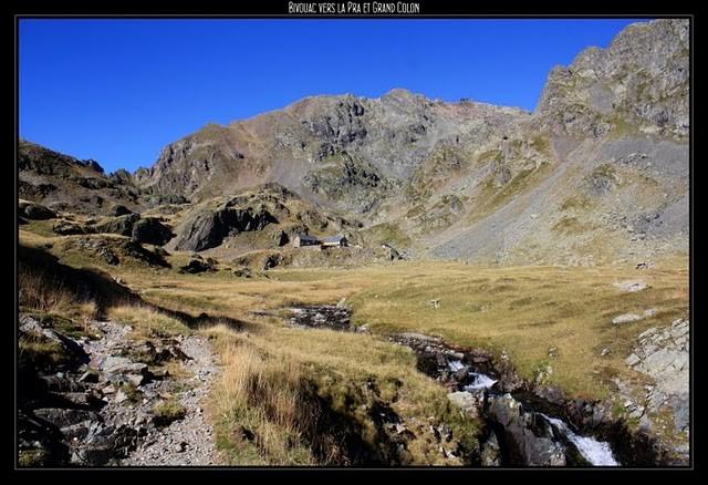 Randonnée pédestre : Les 30 et 31/08/11 : Bivouac vers la Pra et le Grand Colon (38)