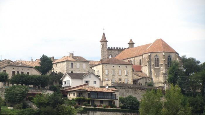 Monflanquin en Lot et Garonne, région Aquitaine