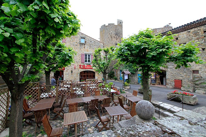 Village de Montpeyroux dans le Puy-de-Dôme