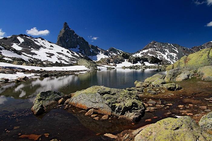 Lac Blanchet Supérieur et Tête des Toillies