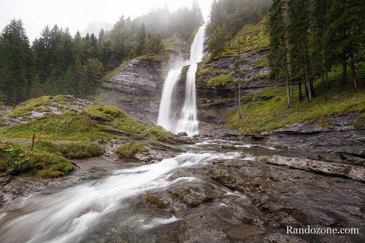 Cascade du Rouget en Haute-Savoie
