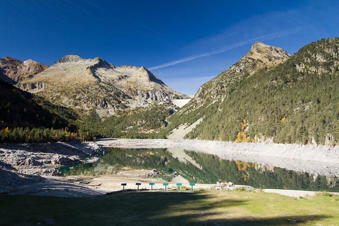 Lac d'Orédon dans les Pyrénées