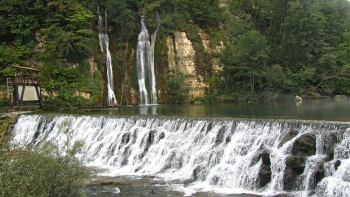 Cascade sur la Valserine