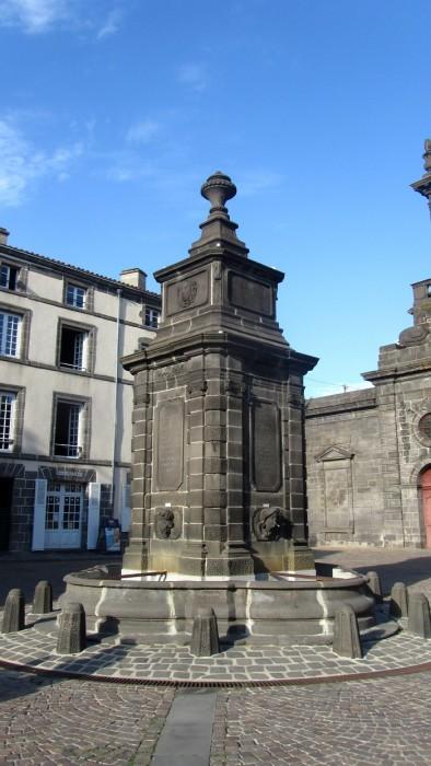 Centre ville de Riom, Puy de Dôme
