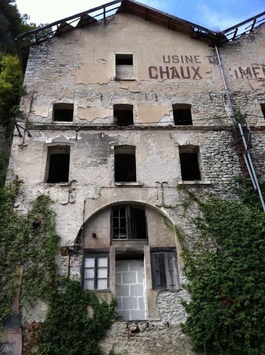 Ancienne usine à Cahors