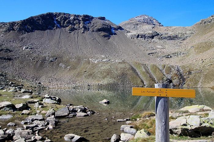 Lac Palluel 2472 mètres